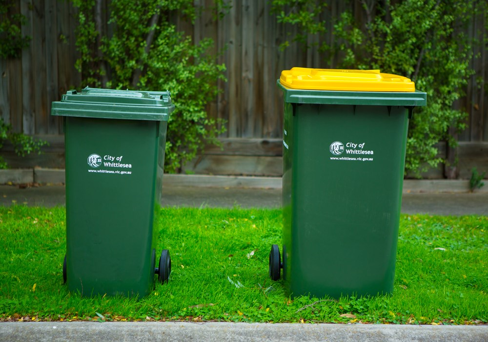 Damaged bin repair or replacement bins