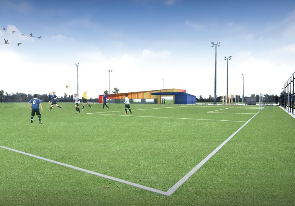 Construction of Mosaic Recreation Reserve and Soccer Pitches