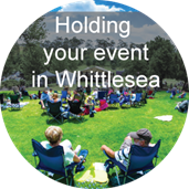 Holding your event in Whittlesea icon