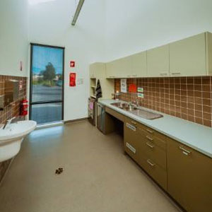 Laurimar Community Activity Centre (CAC) kitchenette available for the community to use.