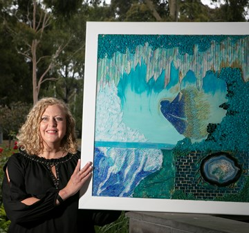 Artists reflect on change in annual art exhibition